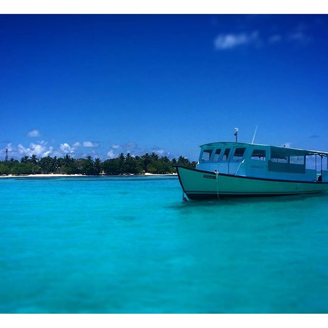 #male #maldives #kandooma #travel #instagood #picoftheday #palmtrees #sun #easter #traveling #instatravelhub #holiday #vacation #travelling #hot #love #ilove #instatravel #tourist #tourism #ihg #holidayinn #maldivesislands #maledives2016 #beach #clouds #sunset #water #boat #blue