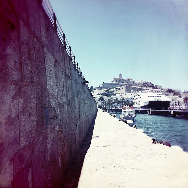 #ibiza #ibiza2016 #summer #photooftheday #abstractmybuilding #picoftheday #beautiful #shapes #cool #view #architecture #all_shots #alley #alleyway #streetart #streetarteverywhere #summer #love #spain #beach #instagood #holiday #eivissa #sun #formentera #port #ibizaport #daltvila #daltvilla