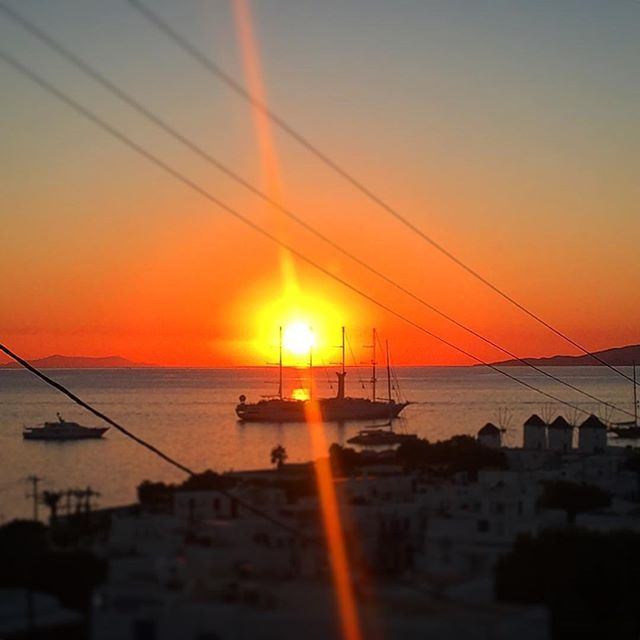 #greece #mykonos #windmill #nature #sky #sun #summer #beautiful #pretty #sunset #sunset_united #beauty #light #photooftheday #love #sunsethunter #red #sunset_madness #sunset_pics #summer #abstractmybuilding #picoftheday #cool #view #architecture #all_shots #beach #instagood #holiday
