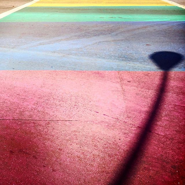 #la #losangeles #us #usa #america #hollywood #hot #ilovela #california #cali #urbano #urbanart #instahub #ic_cities #city #urban #love #town #igshots #justgoshoot #fabshots #implus_daily #popularpic #loveit #travel #vacation #weho #gay #rainbow #rainbowcrosswalk
