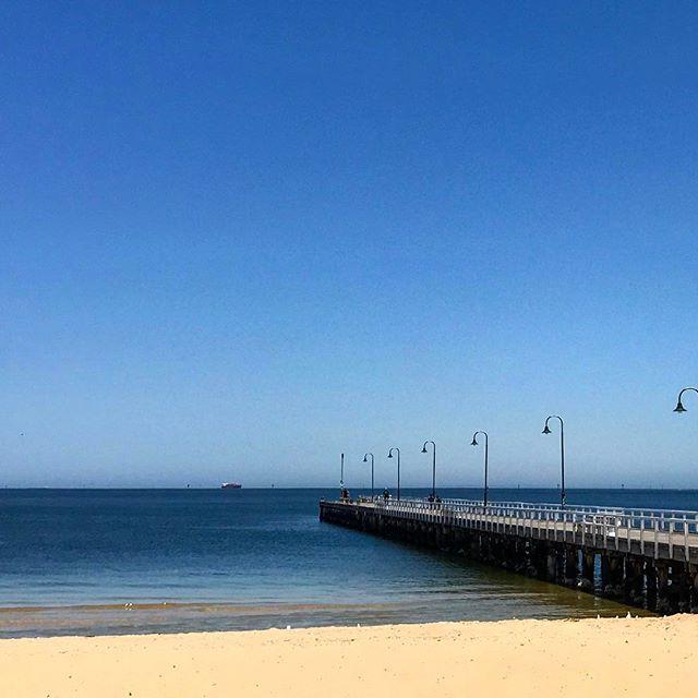 #beach #stkilda #melbournecity #melbourne #reallymelbourne #melbournetodo #onlymelbourne #melbournelife #melbournenow #melbourneILoveYou #melbourneblogger #igersmelbourne #Melbourne_insta #Melbonpix #australia #oz #aussiegram #travel #seeaustralia #beautiful #amazing #love #iphoneonly #photooftheday #picoftheday #bestoftheday #seeaustralia #australiagram #pier