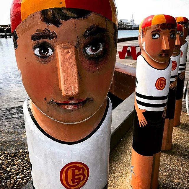 #geelong #woodenstatues #bollardsculpture #melbournetodo #onlymelbourne #Melbournelife #melbournenow #melbourneILoveYou #igersmelbourne #Melbourne_insta #Melbonpix #australia #oz #aussiegram #travel #seeaustralia #beautiful #love #iphoneonly #photooftheday #picoftheday #bestoftheday #seeaustralia #australiagram #sculpture