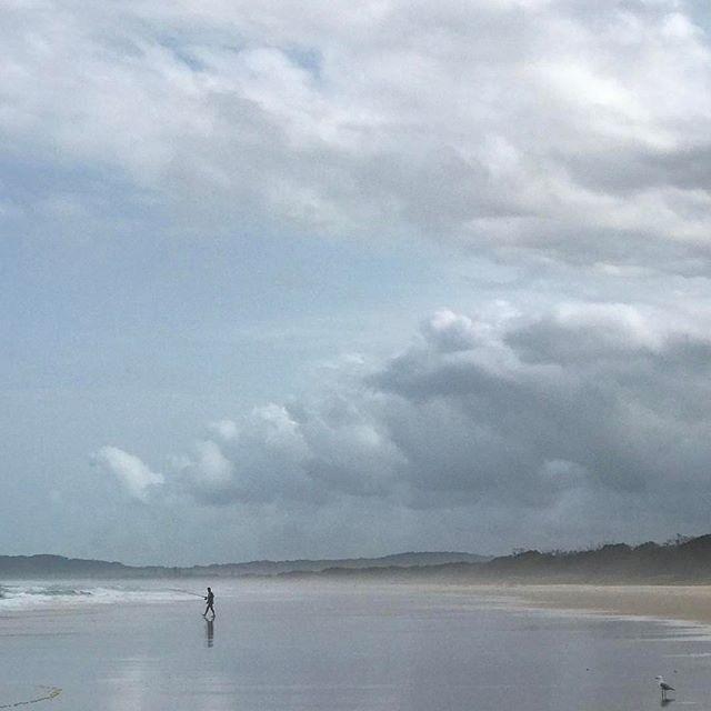 #clouds #fishing #byronbay #beach #summer #nsw #travel #seeaustralia #beautiful #love #iphoneonly #photooftheday #picoftheday #bestoftheday #seeaustralia #australiagram #surf #thisisqueensland #lovenoosa #noosasummer #visitsunshinecoast #discoverqueensland #visitbrisbane #thisisbrisbane #brisbaneanyday #brisbaneblogger #byron