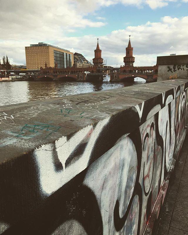 #german #europe #european #berlin #bridge #graffiti #streetart #bestoftheday #instalikes #instaphoto #instapic #instadaily #iggermany #beautiful #instamood #berlino #germany #berlinstagram #berlincity #deutschland #ic_cities #urban #love #town #urbano #untappedcities