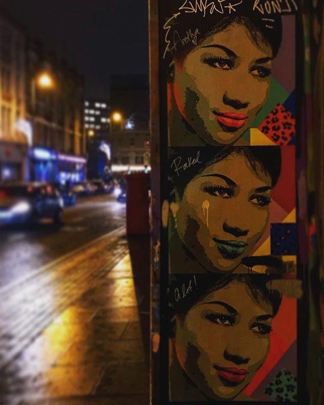 #eastlondon #arethafranklin #shoreditch #london #england #instalondon #londoner #iglondon #uk #britain #ilovelondon #urbanart #instahub #urban #city #town #igshots #justgoshoot #fabshots #popularpic #love #streetphotography #street #streetphotography